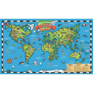 Kids Interactive World Map