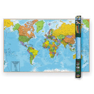 World Wall Chart With Interactive App