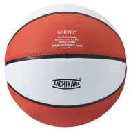 Tachikara® Rubber Basketball, Orange/White