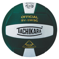 Tachikara® SV5WS Super Soft Composite Volleyball, Dark Green