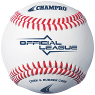 Champro® Official League Leather Baseball (dozen)