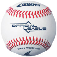 Champro® Official League Synthetic Leather Baseball (dozen)