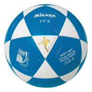 Mikasa® FT5 Soccer Ball Size 5, Blue/White