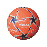 Mikasa® Elstar Soccer Ball Size 3, Orange/Blue