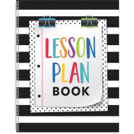 Bold And Bright Lesson Plan Book