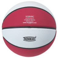 Tachikara® Rubber Basketball, Red/White