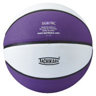 Tachikara® Rubber Basketball, Purple/White