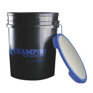 Champro® Bucket With Padded Seat, 6 Gallon