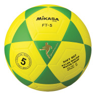 Mikasa® FT5 Soccer Ball Size 5, Green/Yellow