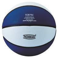 Tachikara® Rubber Basketball, Royal/White