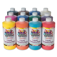32-oz. Color Splash!® Liquid Tempera Paint Assortment (pack of 12)