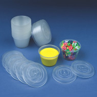 Craft Cups With Lids (pack of 25)