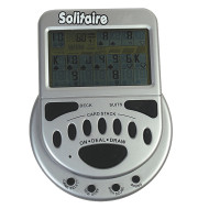 Electronic Mega Screen Solitaire Game