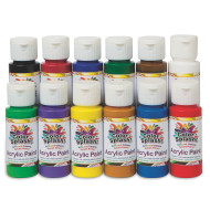 2-oz. Color Splash!® Acrylic Paint Assortment (set of 12)