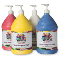 128-oz. Color Splash!® Liquid Tempera Paint - Set A  (set of 4)
