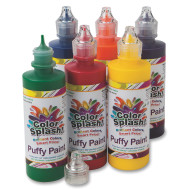Color Splash!® Puffy Paint (set of 6)