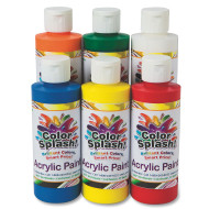 8-oz. Color Splash!® Acrylic Paint Assortment (set of 6)