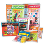 Phonics And Word Families Easy Pack, Grade 1 (pack of 5)