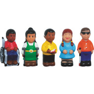 Friends With Disabilities Play Figures (set of 5)