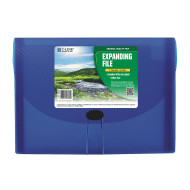 C-Line Biodegradable Blue 7-Pocket Expanding File, Letter Size