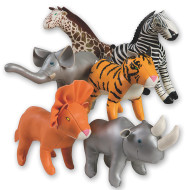 Soft Jungle Animals (set of 6)