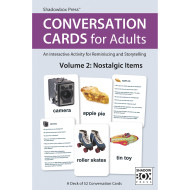 Conversation Cards For Adults Volume 2: Nostalgic Items