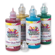 4-oz. Color Splash Glitter Glue Assortment (set of 4)