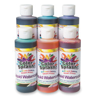 8-oz. Color Splash!® Liquid Watercolor Assortment (set of 6)