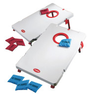 Triumph Blow Molded Plastic Corn Hole Toss Set