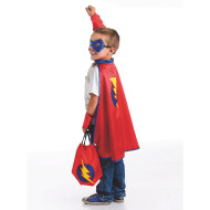Super Hero Dress Up Cape And Accessories