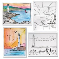 Lighthouse Posters  (pack of 24)