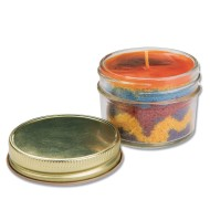 WAX ART JAR CANDLES CRAFT KIT PK24