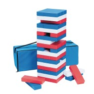 Patriotic Super Tumbling timbers (set of 54)