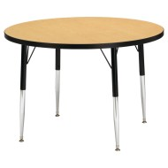 "36"" Round Activity Table, 11""-15"" High"