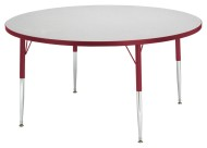 "Rainbow Accents® 48"" Round Activity Table, 11-15""H"
