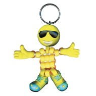 Emoji Beadeez Keyrings (pack of 12) (makes 12)