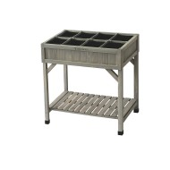 VegTrug Elevated Herb Planter, Grey
