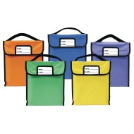 "Pack-N-Read® Book Bags, 10"" x 12"" (set of 5) (set of 5)"