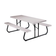 Lifetime Folding Picnic Table, 6