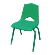 Marco Chair, Green Shell Green Frame