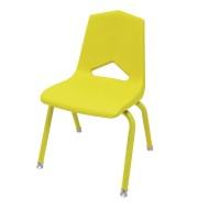 Marco Chair, Yellow Shell Yellow Frame
