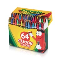 Crayola® Regular Size Crayons (box of 64) (box of 64)