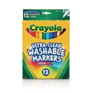 Crayola® Fine Line Washable Markers (box of 12) (box of 12)