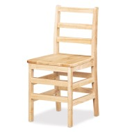 Teachers Ladderback Chair, 18""
