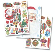 Christmas Clings (pack of 6) (pack of 6)