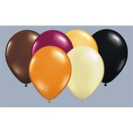 "11"" Autumn Balloon Assortment (bag of 100) (bag of 100)"
