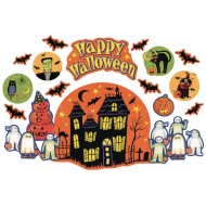 Happy Halloween Display (set of 1)