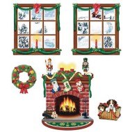 Indoor Christmas Decor Props (pack of 5) (pack of 5)