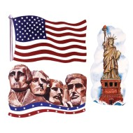 Patriotic Cutouts (pack of 24) (pack of 24)