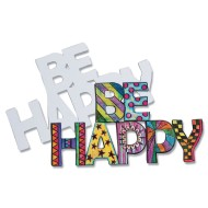 Color-Me™ Be Happy Magnets (pack of 12) (makes 12)